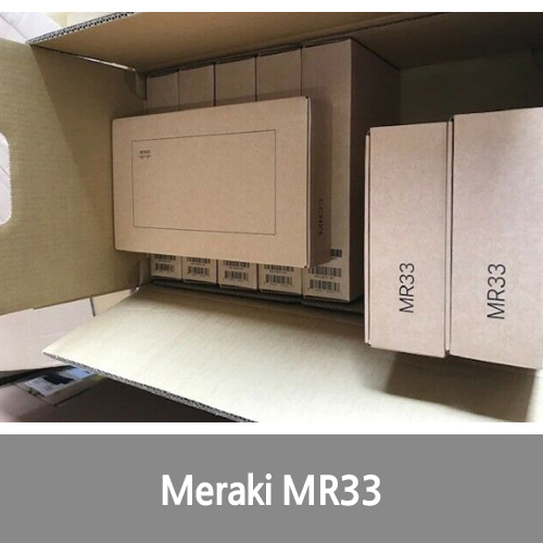 [신품][Cisco][무선AP] Meraki MR33 Wave 2 Access Point (3 Radios, 2.4GHz and 5GHz, Dual-Band
