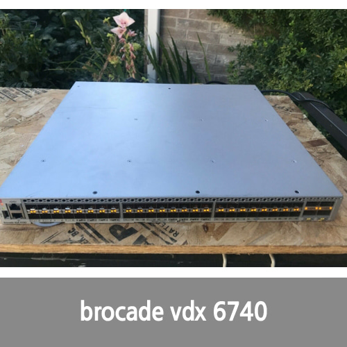[Brocade] Brocade BR-VDX6740-24-R - 24P SFP+ ports, 2- AC Power Supplies