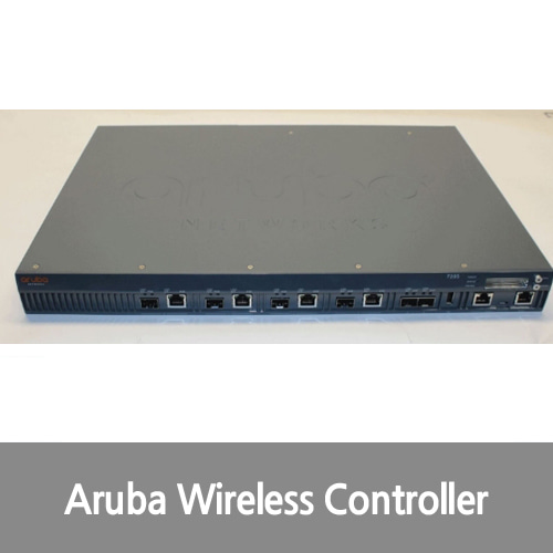 [중고][Aruba][무선컨트롤러] JW736A Networks 7205 Wireless LAN Network Controller 10 GigE