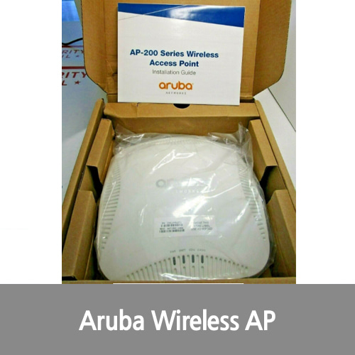 [신품][Aruba][무선AP] AP-205 JW164A OMNI-DIRECTIONAL 802.11ac 867mbs WIRELESS ACESS POINT AP NEW