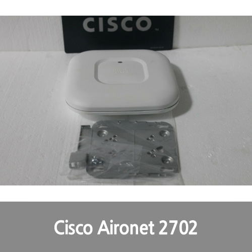 [중고][Cisco][무선AP] AIR-CAP2702I-A-K9 Aironet 2700 Wireless Access Point w/ Bracket • Warranty