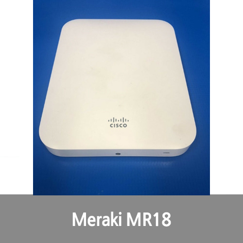 [중고][Cisco][무선AP] Meraki MR18 Cloud Managed Wireless Access Point (Unclaimed)