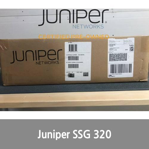 [Juniper] CPO SSG-320M-SH Secure Services Gateway 320 System