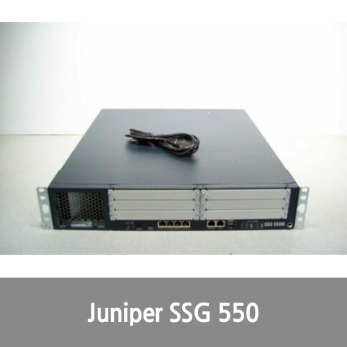 [Juniper] SSG-550M-SH Secure Services Gateway w/ Single Power Supply Tested