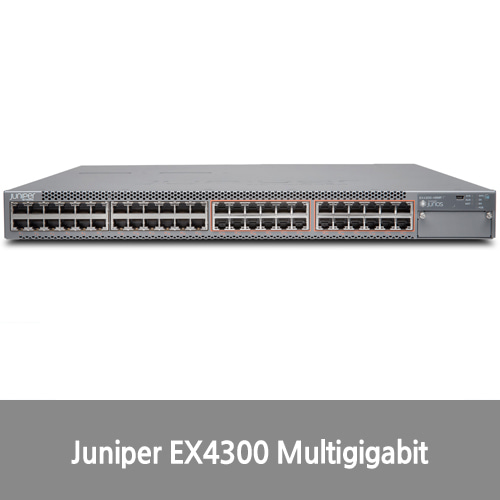 [Juniper]EX4300 Multigigabit