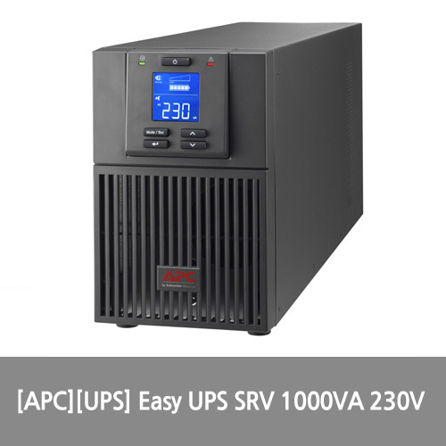 [APC][UPS] Easy UPS SRV 1000VA 230V / Tower 타입