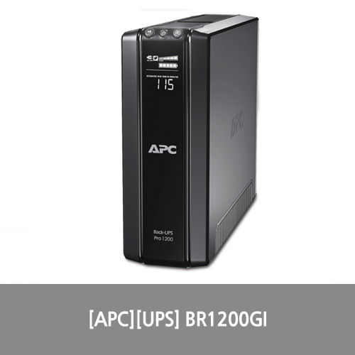 [APC][UPS] APC Power-Saving Back-UPS Pro 1200, 230V BR1200GI