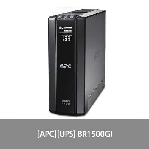 [APC][UPS] APC Power-Saving Back-UPS Pro 1500, 230V BR1500GI