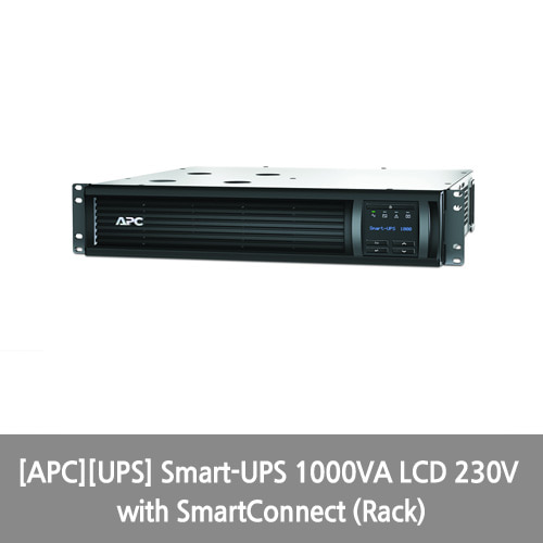 [APC][UPS] Smart-UPS 1000VA LCD 230V with SmartConnect (Rack)