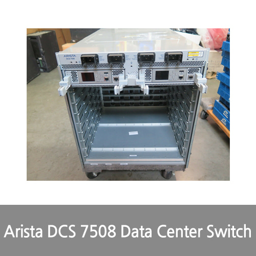 [Arista] DCS 7508 Data Center Switch